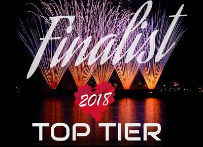 Top Tier Exclusive Use venue of the year Finalist 2018
